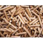 以橡木、胡桃木刨花原料为主,生产的颗粒高生物质颗粒
