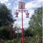 一体化太阳能路灯庭院路灯系统