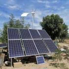 光伏板系統風光互補太陽能電池板